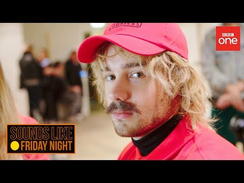 Delivery man Liam Payne sings in an elevator - Sounds Like Friday Night - BBC One