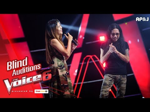 แอ๊ด - Live and Learn - Blind Auditions - The Voice Thailand 6 - 12 Nov 2017