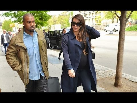 Kim and Kanye Name Daughter NORTH WEST!