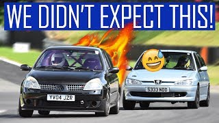 How Fast is Our Bought Not Built Clio 172 Track Car? Ft. Brands Hatch