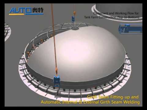 05 Tank Farm Project Top To Bottom Construction Method And