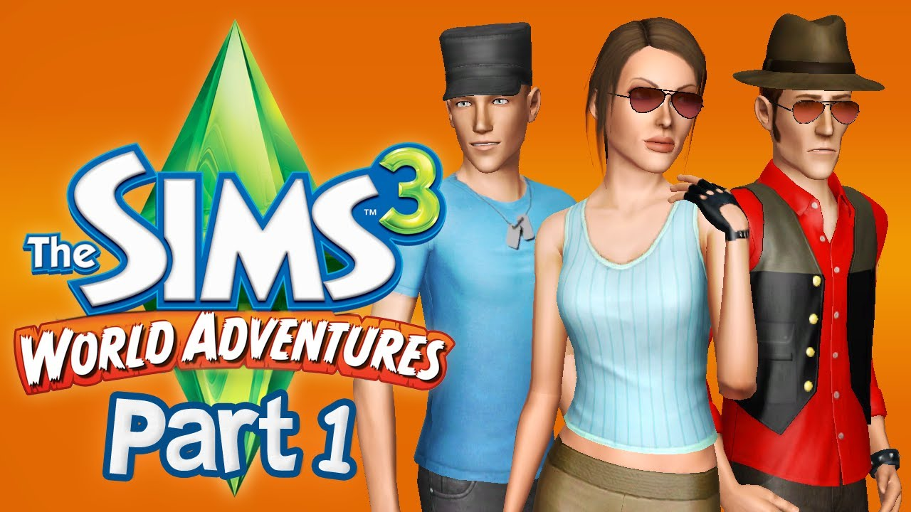 let 39 s play the sims 3 world adventures part 1 youtube. Black Bedroom Furniture Sets. Home Design Ideas