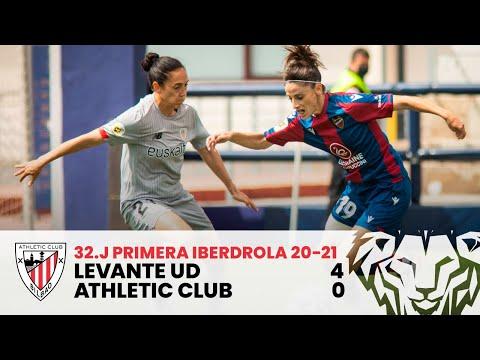 ⚽ HIGHLIGHTS I Levante UD 4-0 Athletic Club I J32 Primera Iberdrola 2020-21