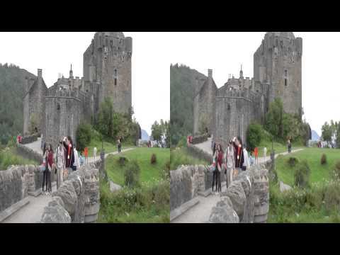 Scotland Eilean Donan Castle 3D