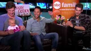 """Baby Daddy"" Interviews: Who Would You Call to Babysit First?"