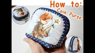 How to : Coin purse (กระเป๋าใส่เหรียญ)