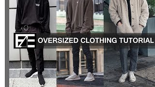 How to | Style Oversized Clothes - YouTube