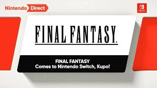 FINAL FANTASY for Nintendo Switch - Official Reveal Trailers