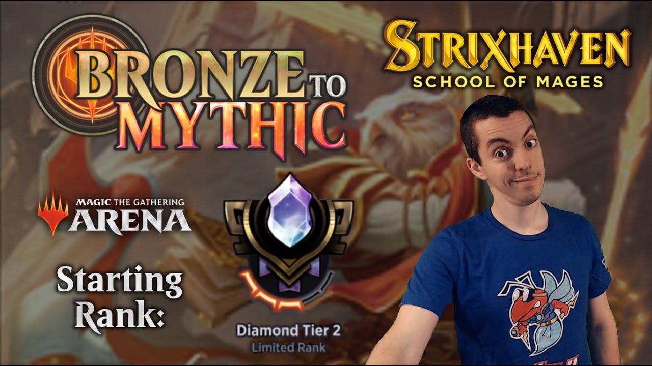 💎 MTG Arena: Bronze To Mythic (Limited: Strixhaven Draft) - Episode 22 - Starting Rank: Diamond 2