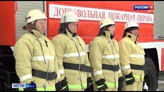 Своя пожарная охрана появилась в Омском районе