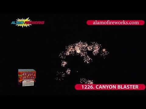 1226 Canyon Blaster - Alamo Fireworks