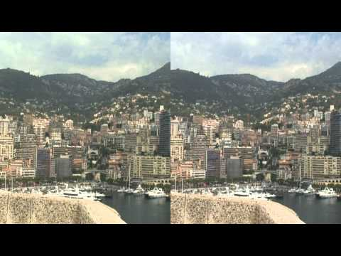 France in 3D, including Avignon, Pont Du Gard, Menton, Monaco and Cannes