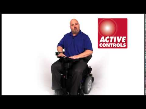 Active Controls on Quantum Powerchairs