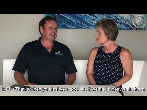 Pool Guy Services Neil Patterson tells us about pool and pool maintenance!