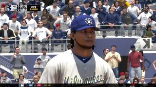 Milwaukee Brewers Franchise: Game 43 @ San Diego Padreso (2017 | MLB The Show 17)