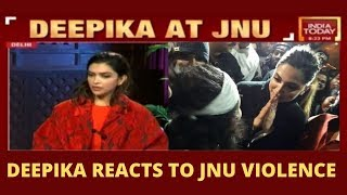 Watch Deepika Padukone Reacting To The JNU Violence | India Today Exclusive