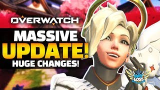 Overwatch - MASSIVE Game Update! - Huge Changes!
