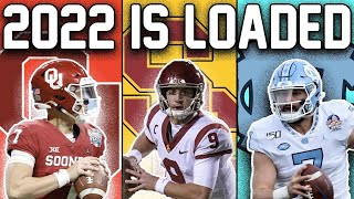 The 2022 NFL QB Draft Class IS LOADED (Get to Know All the Top Prospects)