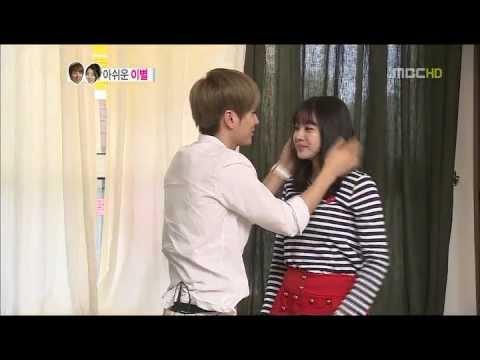 WGM - Super Junior LEETEUK & SORA ENDING KISS MOMENT