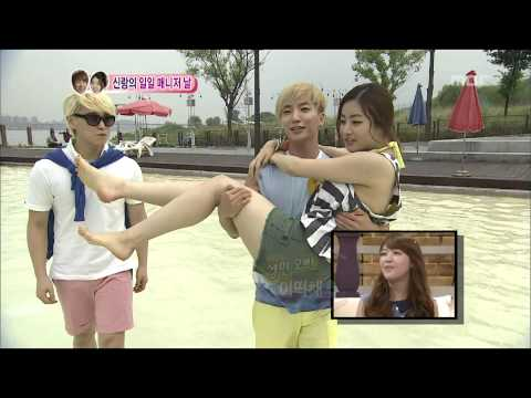 We Got Married, Teuk, So-ra(27) #09, 이특-강소라(27) 20120825