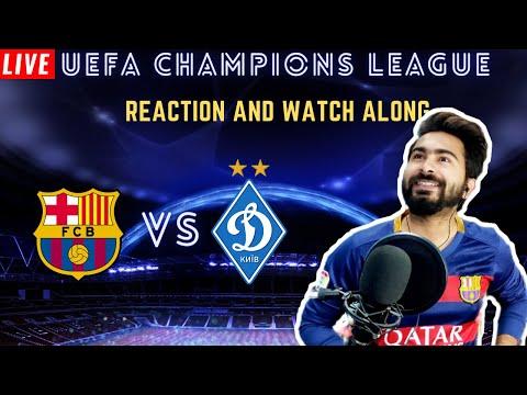 Barcelona v Dynamo Kyiv   LIVE Reaction & Watchalong   UEFA Champions League 2021/22