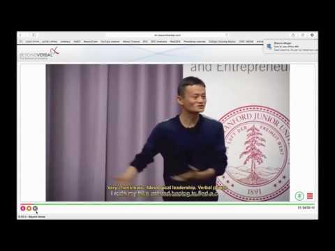 Jack Ma (Alibaba) speaks in Stanford U. (Mandarin)  - Short Version