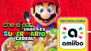The D-Pad Unboxes Super Mario Cereal
