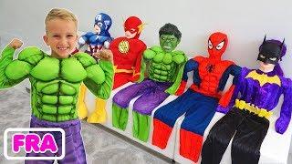 Collection d'histoires - Vlad se transforme en super-héro