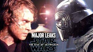 MAJOR The Rise Of Skywalker Leaks & Spoilers Revealed! (Star Wars Episode 9)