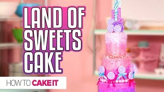 LAND OF SWEETS CAKE from Disney's Nutcracker   PRIZE PACK GIVEAWAY!!   How To Cake It