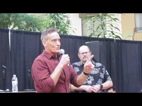 ACTOR JOHN WESLEY SHIPP TALKS ABOUT THE FLASH.