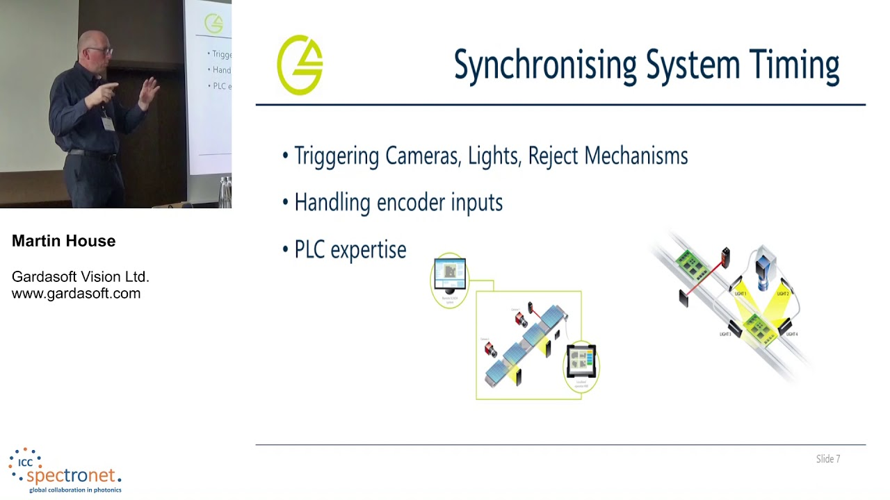 A deeper understanding of some of the complexities within LED lighting control - Machine Vision Technology Forum 2019