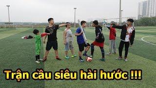 Thử Thách Bóng Đá xuất hiện Team Dybala đòi đánh bại team duy trung và trận cầu hài nhất Việt Nam