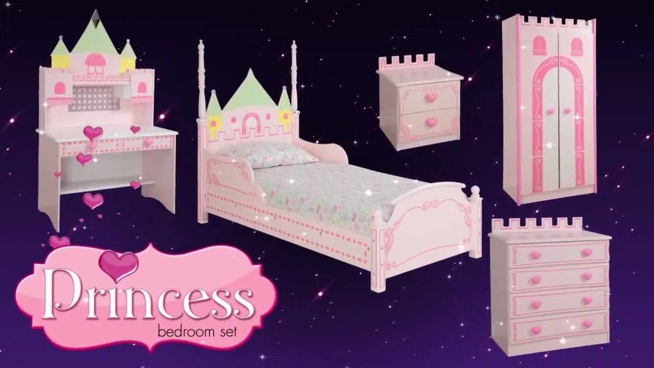 Princess Castle Theme Bed Bedroom Furniture For Kids