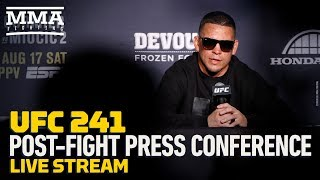 UFC 241 Post-Fight Press Conference - MMA Fighting