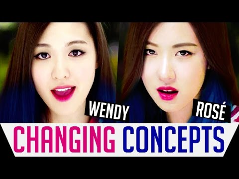 Changing Concepts Of Kpop Girl Groups (New Generation)