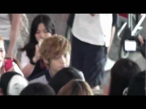 [FANCAM] 120710 Kris,Lay & Luhan @ Incheon Airport going to Beijing