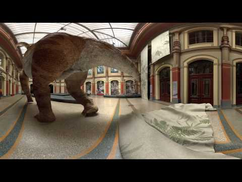 [360] Giraffatitan Back to Life in Virtual Reality 360 Video by Milan Mili?ev