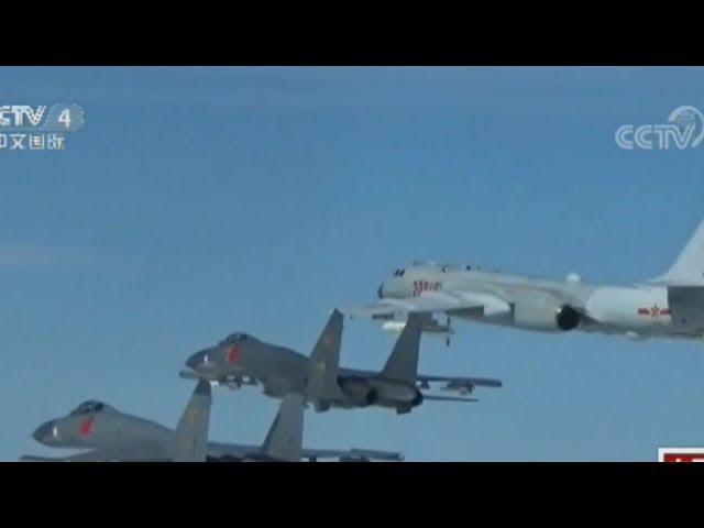 央視宣傳 共軍「監控」我F-16戰機