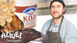 Brad Uses Moldy Rice (Koji) to Make Food Delicious   It's Alive   Bon Appétit