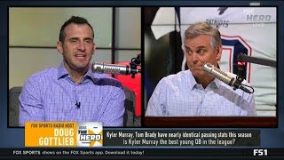 THE HERD | Doug Gottlieb & Colin DEBATE: Is Kyler Murray the best young QB in the league?