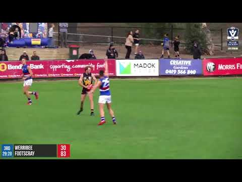 Round 7 highlights: Werribee vs Footscray
