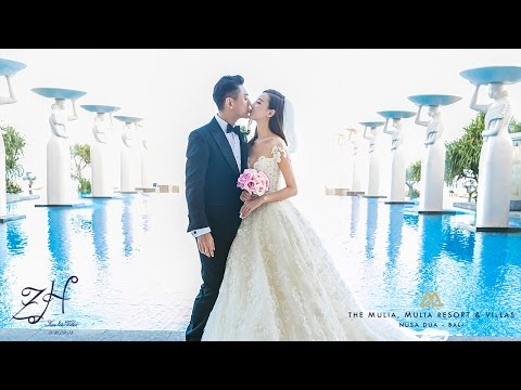 Actor Ken Chu of F4 Meteor Garden and Actress Wife Han Wen Wen Tied Their Knot at Mulia Bali