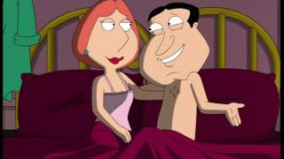 Family Guy - Quagmire and Lois in bed