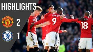 Manchester United 2-1 Chelsea - Premier League Rewind (17/18)