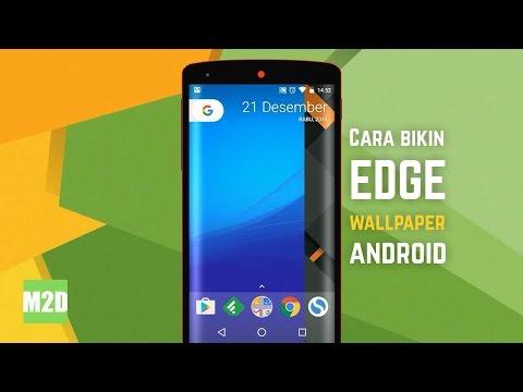 Cara Membuat Edge Wallpaper Melengkung Di Android Dengan Picsart