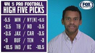 Jason McIntyre's Week 5 Picks | PRO FOOTBALL PICKS | FOX SPORTS