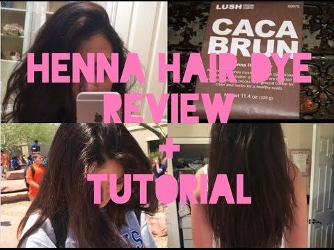 A Day In My Life Lush Brun Henna Hair Dye Videomoviles Com