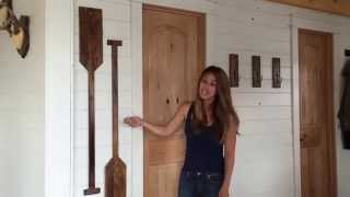 How to Make Faux Oars or Paddles from Wood