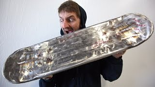 STAINLESS STEEL SKATEBOARD   YOU MAKE IT WE SKATE IT EP 83